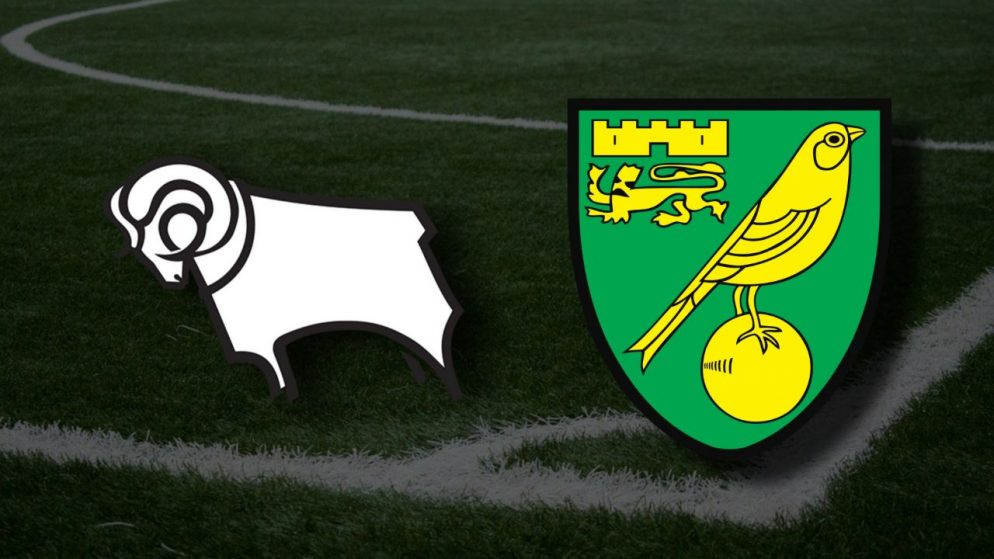 Apostas Derby County x Norwich City Championship 10/04/21