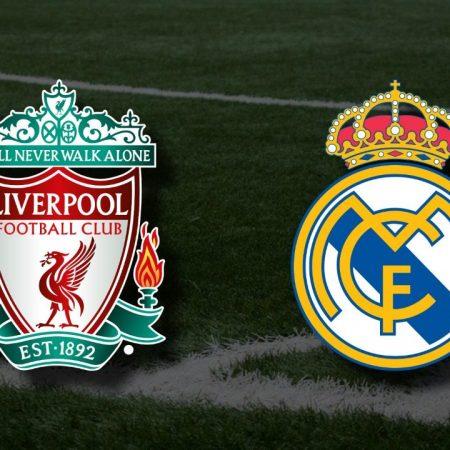 Apostas Liverpool x Real Madrid Liga dos Campeões 14/04/21