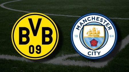 Apostas Borussia Dortmund x Manchester City Liga dos Campeões 14/04/21