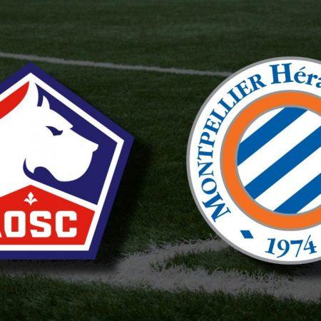 Apostas Lille OSC x Montpellier Ligue 1 16/04/21