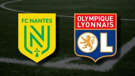 Apostas FC Nantes x Lyon Ligue 1 18/04/21