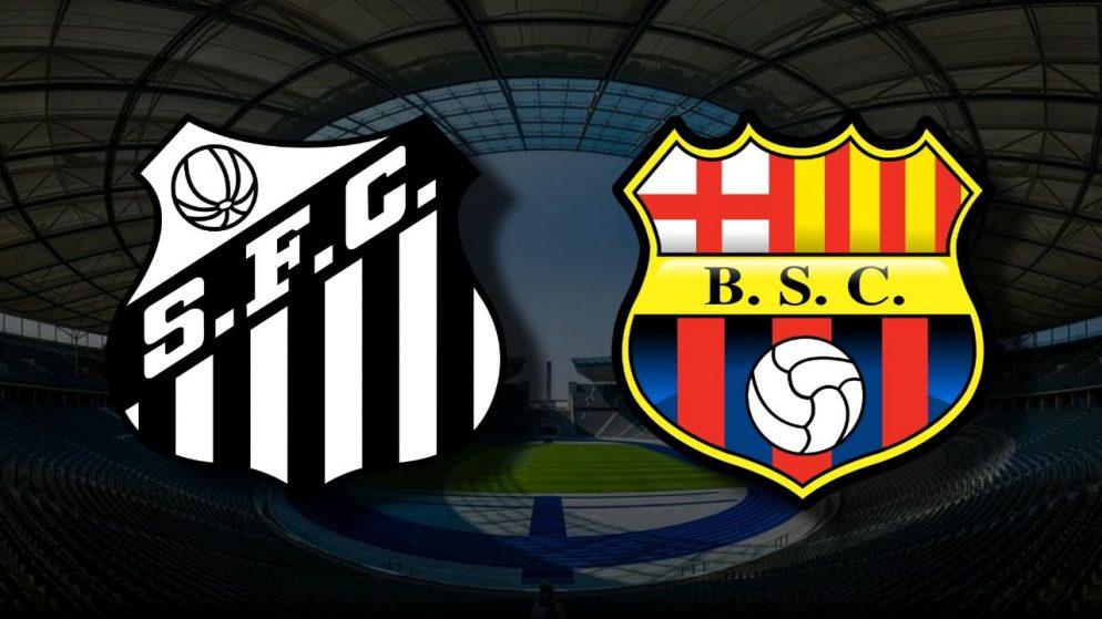 Apostas Santos x Barcelona SC Libertadores da América 20/04/21