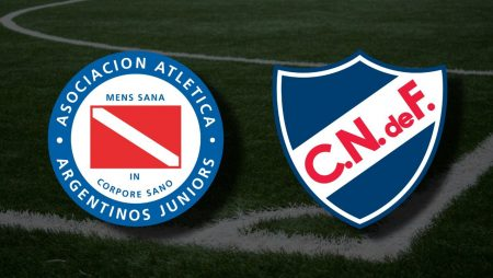 Apostas Argentinos Juniors x Nacional Libertadores da América 20/04/21