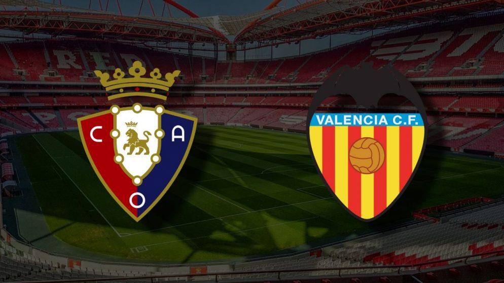 Apostas Osasuna x Valencia La Liga 21/04/21