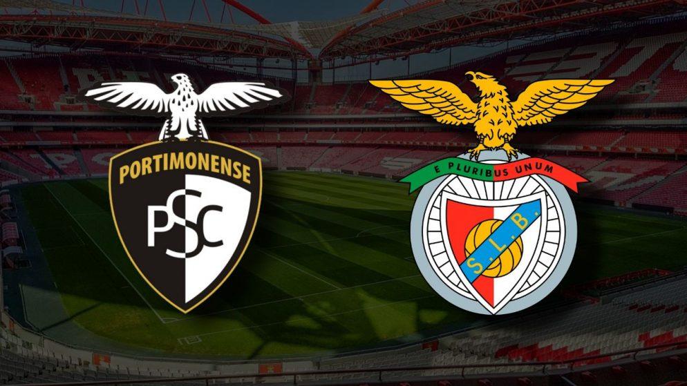 Apostas Portimonense x SL Benfica Liga NOS 22/04/21