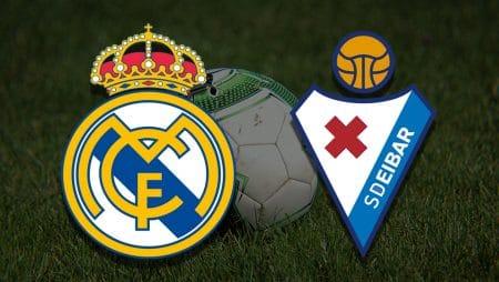 Apostas Real Madrid x Eibar La Liga 03/04/21