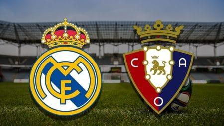Apostas Real Madrid x Osasuna La Liga 01/05/21