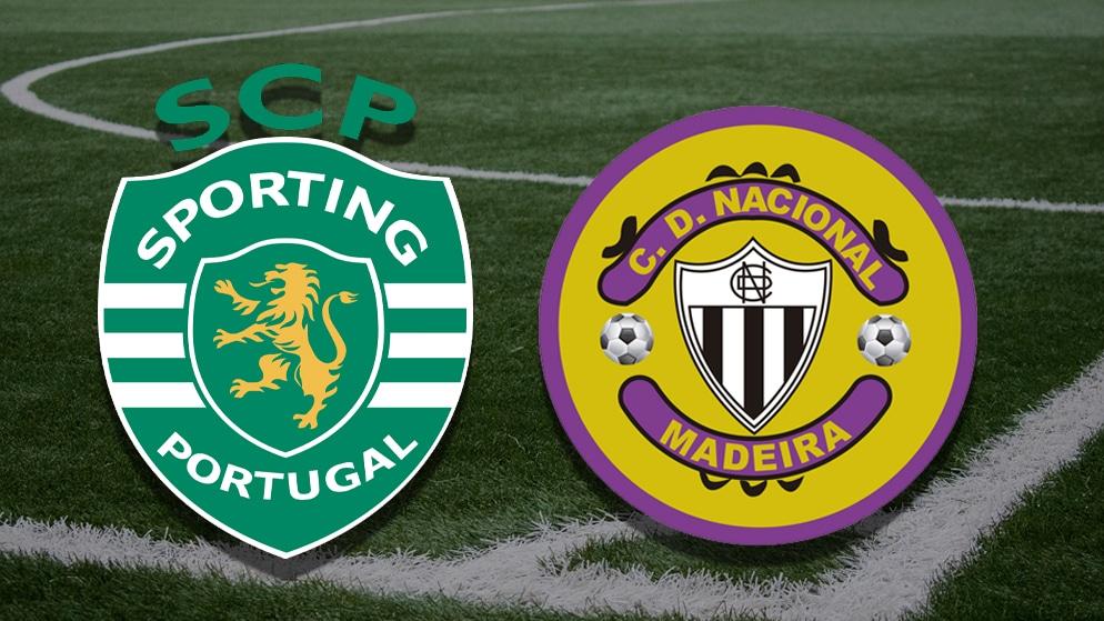 Apostas Sporting x Nacional Primeira Liga NOS 01/05/21