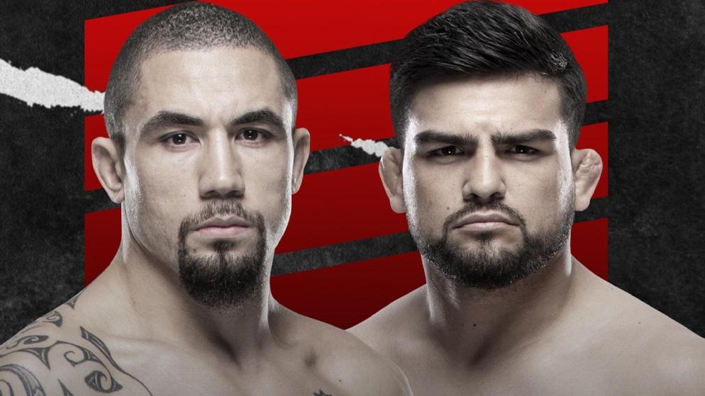 Apostas UFC Whittaker x Gastelum 17/04/21