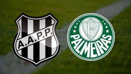 Apostas Ponte Preta x Palmeiras Paulistão 09/05/21
