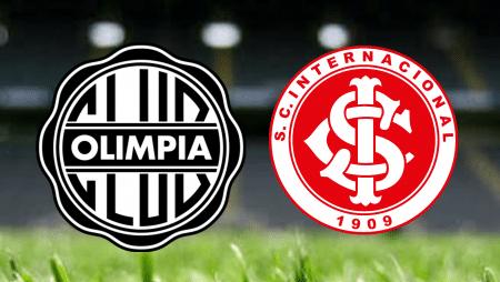 Apostas Olimpia x Internacional Libertadores da América 20/05/21