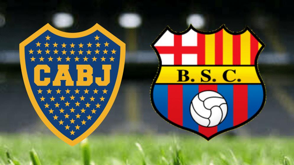 Apostas Boca Juniors x Barcelona SC Libertadores da América 20/05/21