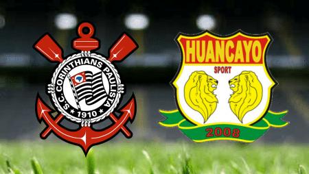 Apostas Corinthians x Sport Huancayo Copa Sul-Americana 20/05/21