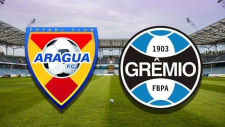 Apostas Aragua x Grêmio Copa Sul-Americana 20/05/21