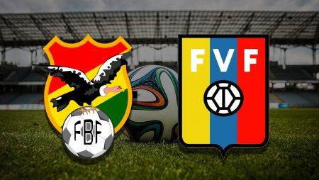Apostas Bolívia x Venezuela Eliminatórias 03/06/21