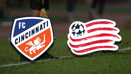 Apostas Cincinnati x New England Revolution MLS 29/05/21