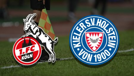 Apostas Colônia x Holstein Kiel Playoff Bundesliga 26/05/21