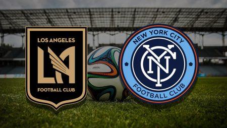 Apostas Los Angeles x New York City MLS 29/05/21