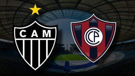 Apostas Atlético Mineiro x Cerro Porteño Libertadores da América 04/05/21