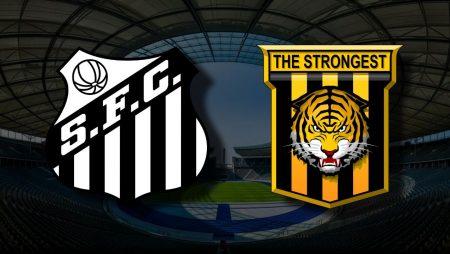 Apostas Santos x The Strongest Libertadores da América 04/05/21