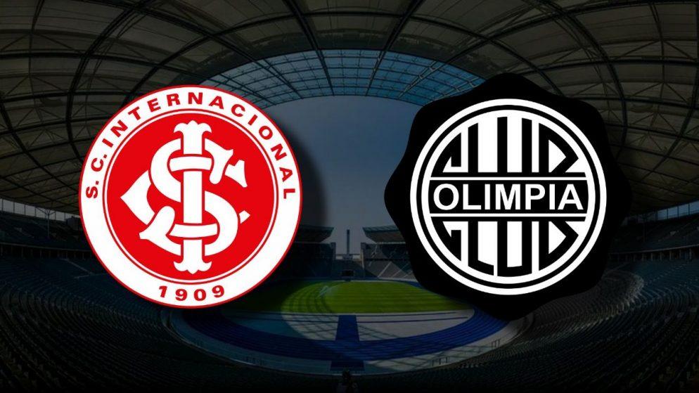 Apostas Internacional x Olimpia Libertadores da América 05/05/21