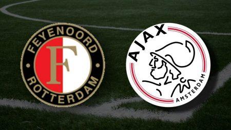 Apostas Feyenoord x Ajax Eredivisie 09/05/21