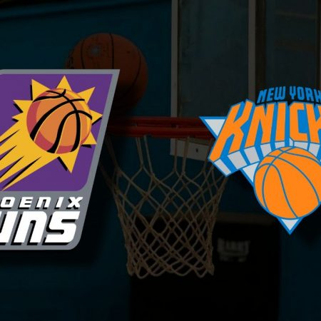 Apostas Phoenix Suns x New York Knicks NBA 07/05/21