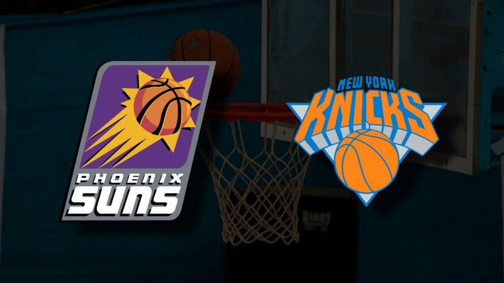 Apostas Phoenix Suns x New York Knicks NBA 07/05/21