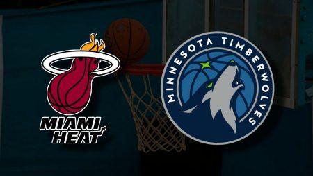 Apostas Miami Heat x Minnesota Timberwolves NBA 07/05/21