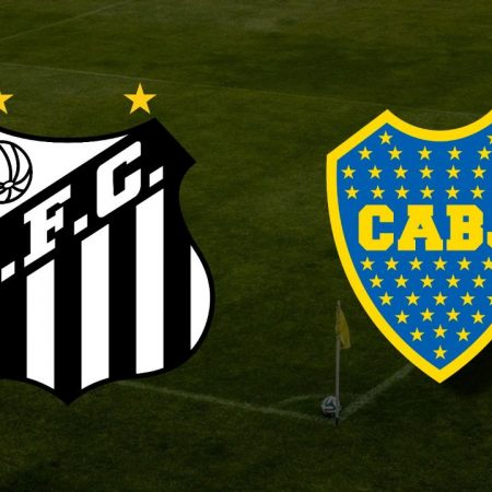 Apostas Santos x Boca Juniors Libertadores da América 11/05/21