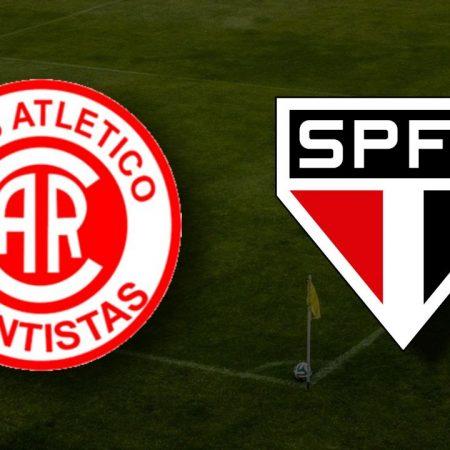 Apostas Rentistas x São Paulo Libertadores da América 12/05/21