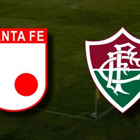 Apostas Fluminense x Independiente Santa Fe Libertadores da América 12/05/21
