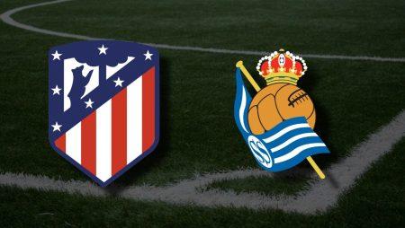 Apostas Atlético de Madrid x Real Sociedad La Liga 12/05/21