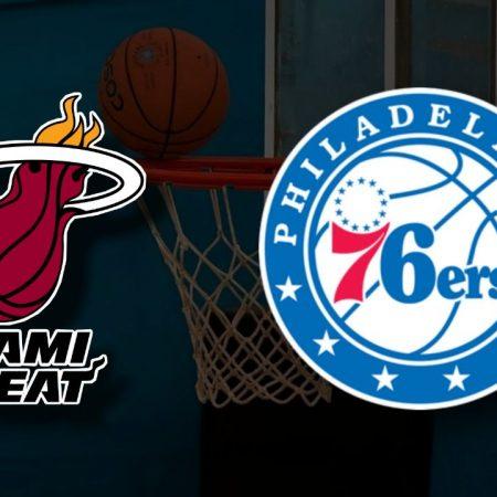 Apostas Miami Heat x Philadelphia 76ers NBA 13/05/21