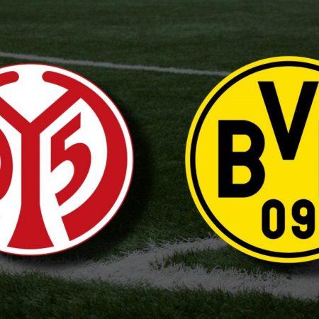 Apostas Mainz x Borussia Dortmund Bundesliga 16/05/21