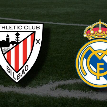 Apostas Athletic Bilbao x Real Madrid La Liga 16/05/21