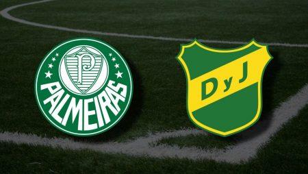Apostas Palmeiras x Defensa y Justicia Libertadores da América 18/05/21