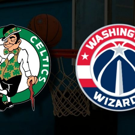 Apostas Boston Celtics x Washington Wizards Play-In NBA 18/05/21