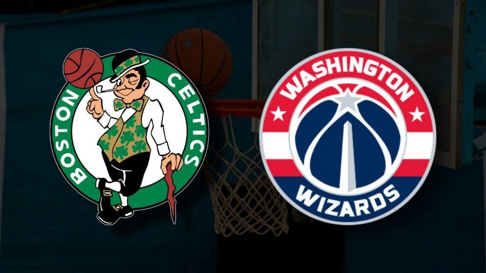 Apostas Boston Celtics x Washington Wizards Play-In NBA 18/05/21