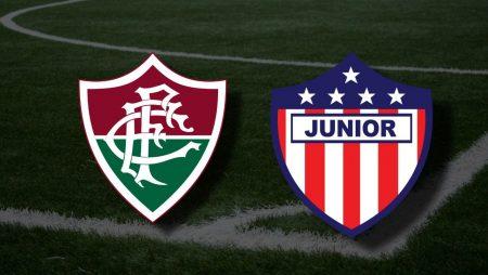 Apostas Fluminense x Atlético Junior Libertadores da América 18/05/21