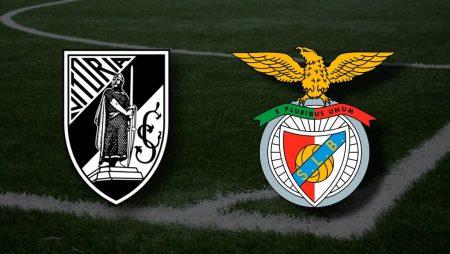Apostas Vitória de Guimarães x Benfica Liga NOS 19/05/21