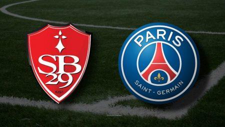 Apostas Brest x PSG Ligue 1 23/05/21