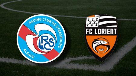 Apostas Strasbourg x Lorient Ligue 1 23/05/21