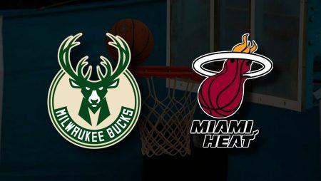 Apostas Milwaukee Bucks x Miami Heat Playoffs NBA 22/05/21