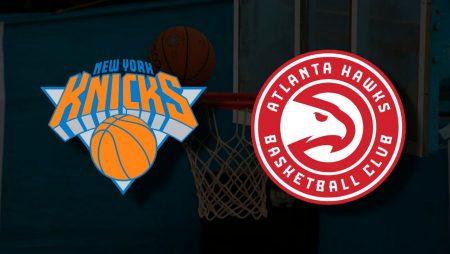 Apostas New York Knicks x Atlanta Hawks Playoffs NBA 23/05/21