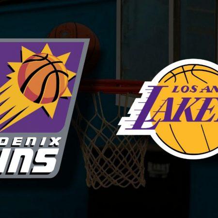 Apostas Phoenix Suns x Los Angeles Lakers Jogo 5 Playoffs NBA 01/06/21
