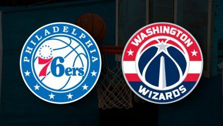 Apostas Philadelphia 76ers x Washington Wizards Jogo 2 Playoffs NBA 26/05/21