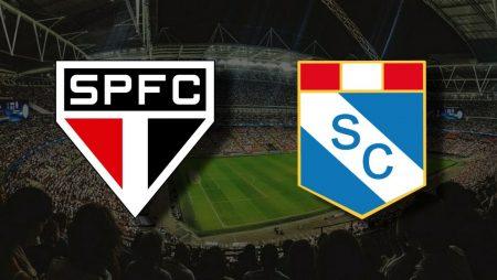 Apostas São Paulo x Sporting Cristal Libertadores 25/05/21