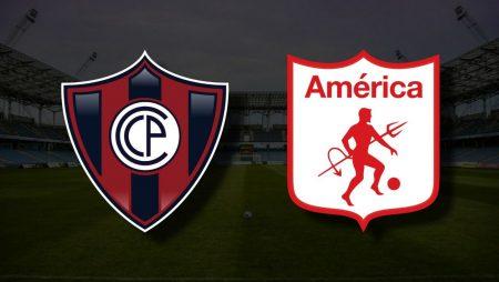 Apostas Cerro Porteño x América de Cali Libertadores 25/05/21