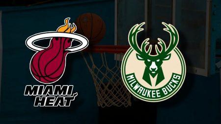 Apostas Miami Heat x Milwaukee Bucks Jogo 4 Playoffs NBA 29/05/21